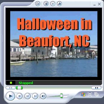 Halloween in Beaufort, NC