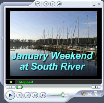January Weekend at South River
